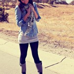 Fall Fashion Series Day 3: Chambray and Rain Boots