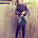 Fall Fashion Series Day 4: Stripes + Leopard