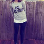 What I Wore Wed-nes-day: Au Revoir