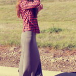 Checkered Top and Maxi