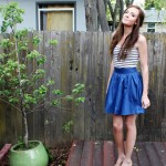 The Prettiest Blue Skirt