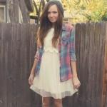 FALL FASHION SERIES DAY TWO: GIRLY TOMBOY