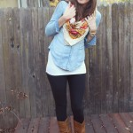 SCARVES, FRENCH FOOD AND CATS (THESE ARE A FEW OF MY FAVORITE THINGS)