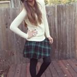 FALL FASHION SERIES DAY FIVE: SCHOOL GIRL