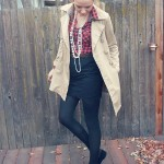 TRENCH COAT AND LACE
