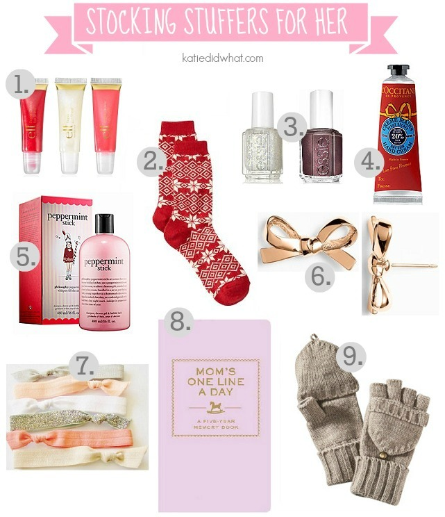 Stocking Stuffers And Gift Guide For Her Katie Did What