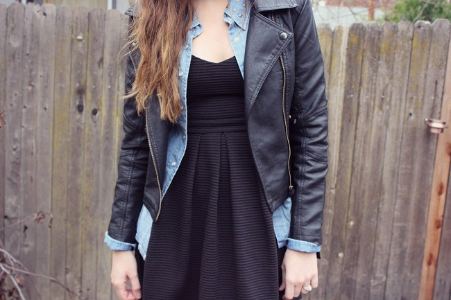 Denim and black #ThisisStyle #shop