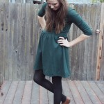 SKATER DRESS AND BROGUES