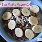 COCONUT EGG WHITE OATMEAL