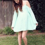 FESTIVAL STYLE – MINT DRESS AND DAISY CROWN