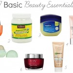 MY BASIC BEAUTY ESSENTIALS