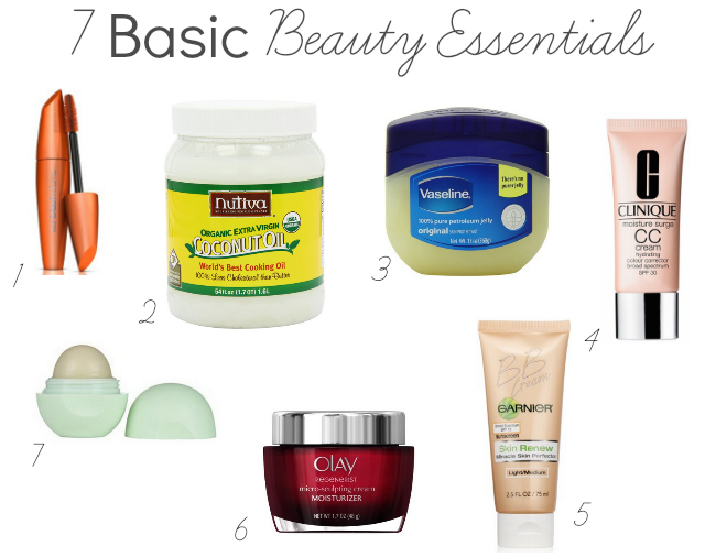 basic beauty essentials
