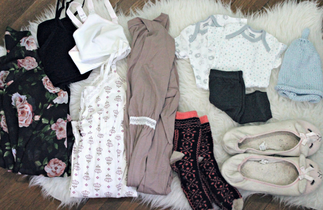 hospital bag clothes