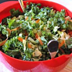 SUPER EASY KALE SALAD RECIPE