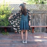 ANKLE BOOTS AND A KIMONO