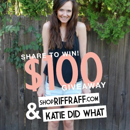 Riffraff giveaway