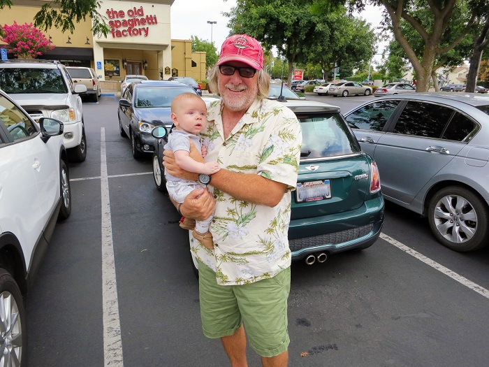 grandpa and sam