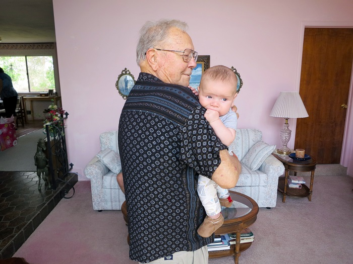 great grandpa and sam