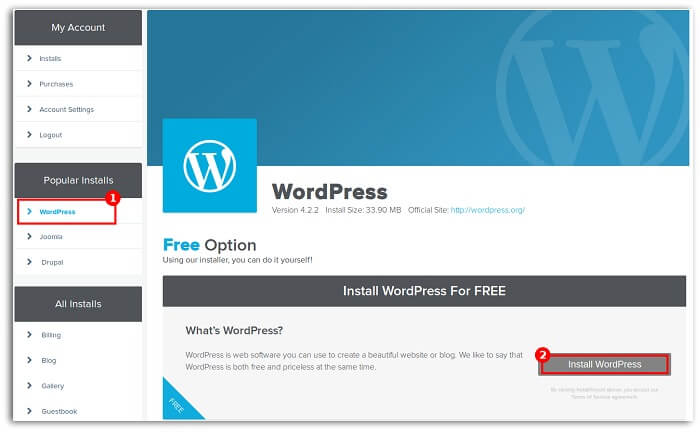 install-wordpress