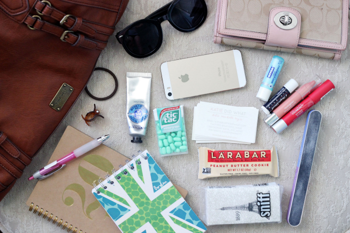 whats in my bag contents