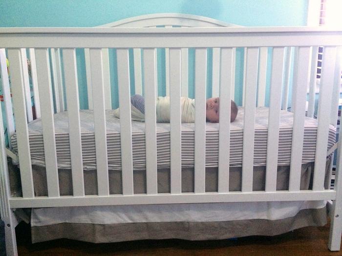 baby to crib