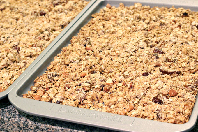 homemade low fat granola cereal
