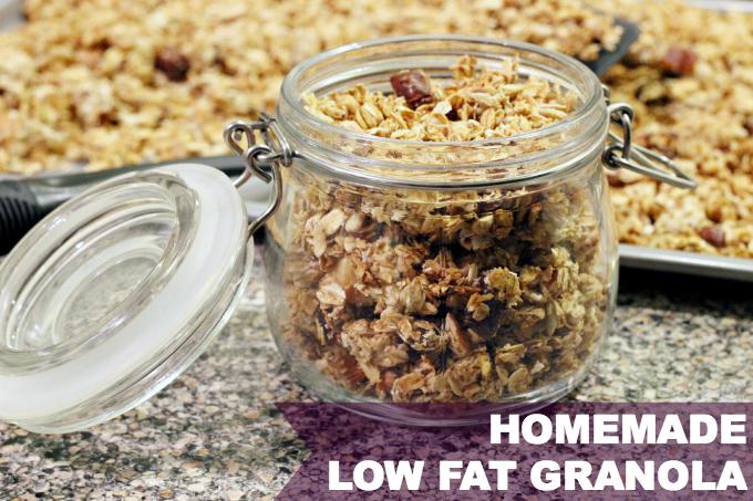 low fat granola recipe