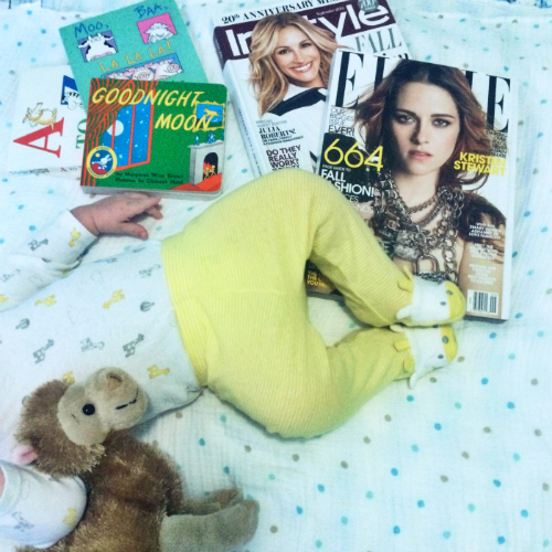 magazines stylized