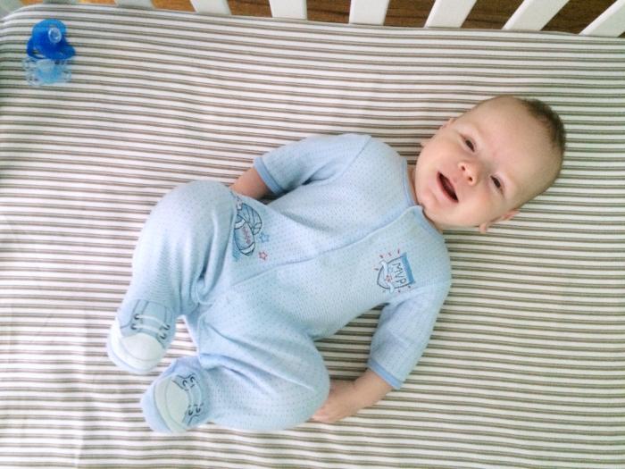 sam at 5 months