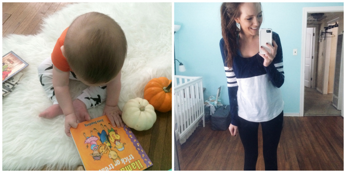 halloween book and lj