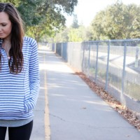 lucy striped top