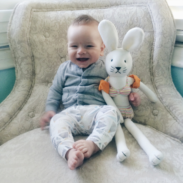 sam 6 months old