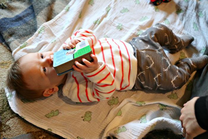 christmas baby book