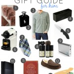 GIFT GUIDE FOR HIM AND FOR BABY