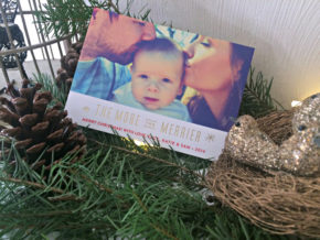 holiday cards from minted