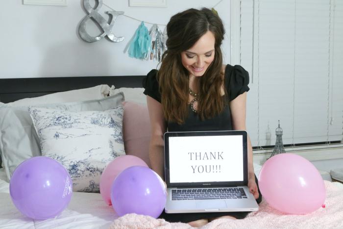 blog anniversary thank you
