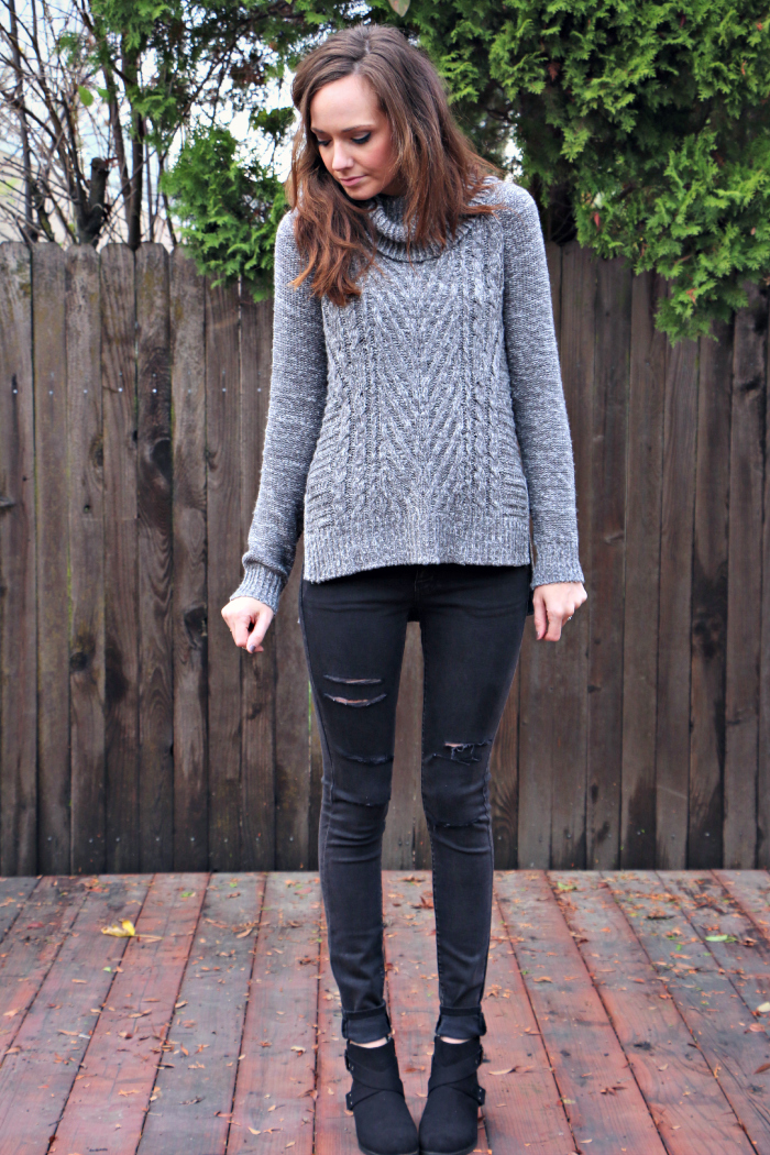 grey sweater 1