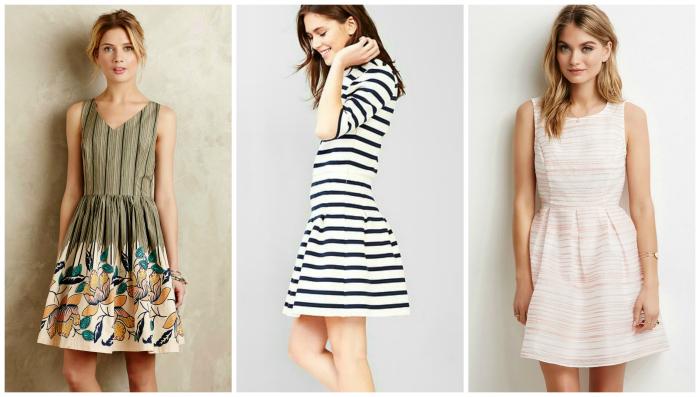 striped easter dresses