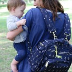 JU-JU-BE ANCHOR DIAPER BAG
