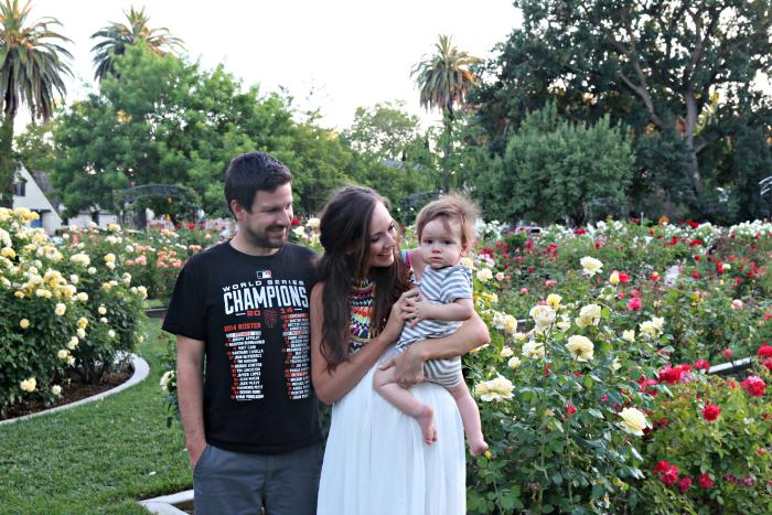 family rose garden