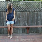 DRESSING THE BUMP WITH LOOSE FLOWY TOPS