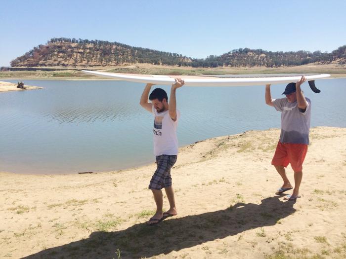 lake day 8