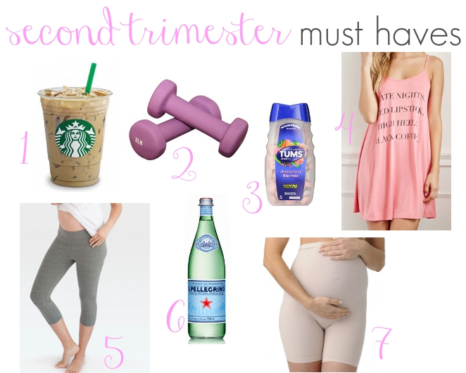 second trimester must haves list