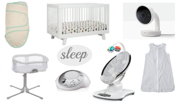 baby registry must haves for sleep