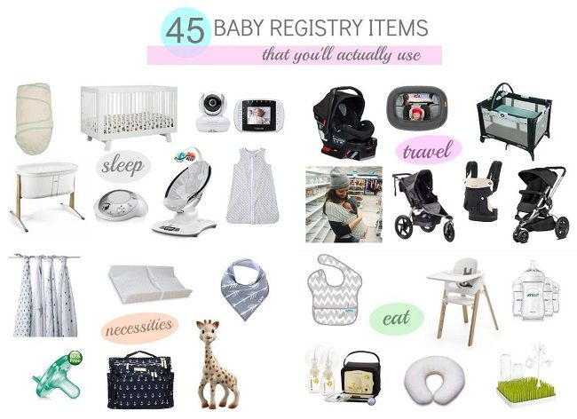 45 BABY REGISTRY MUST HAVES - Katie Did What