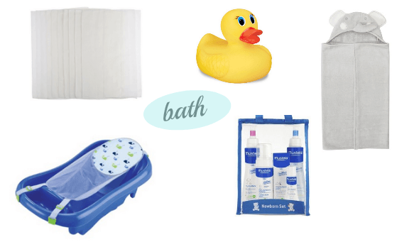 bath registry essentials