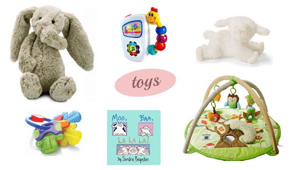 toys for baby registry