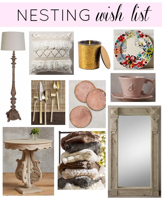 nesting wish list