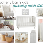 NURSERY WISH LIST