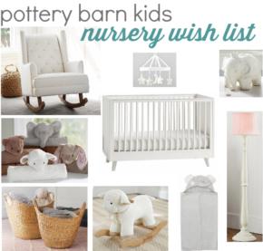pottery barn kids wish list